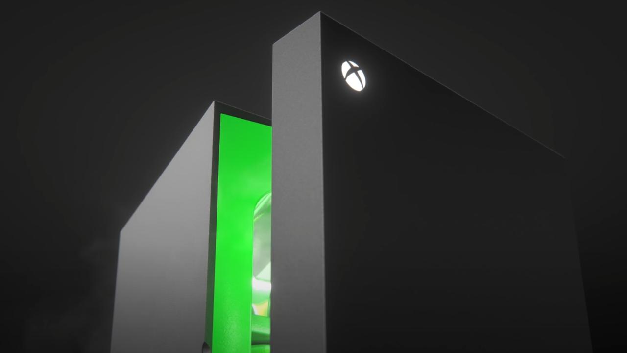 Scalpery sprzedają wyprzedane minilodówkę na konsolę Xbox Series X